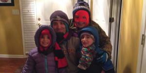 family-snow-time