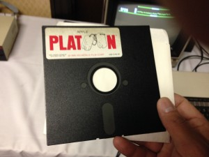 Remember floppy disks? I hoped it was Oregon Trail but I was disappointed.