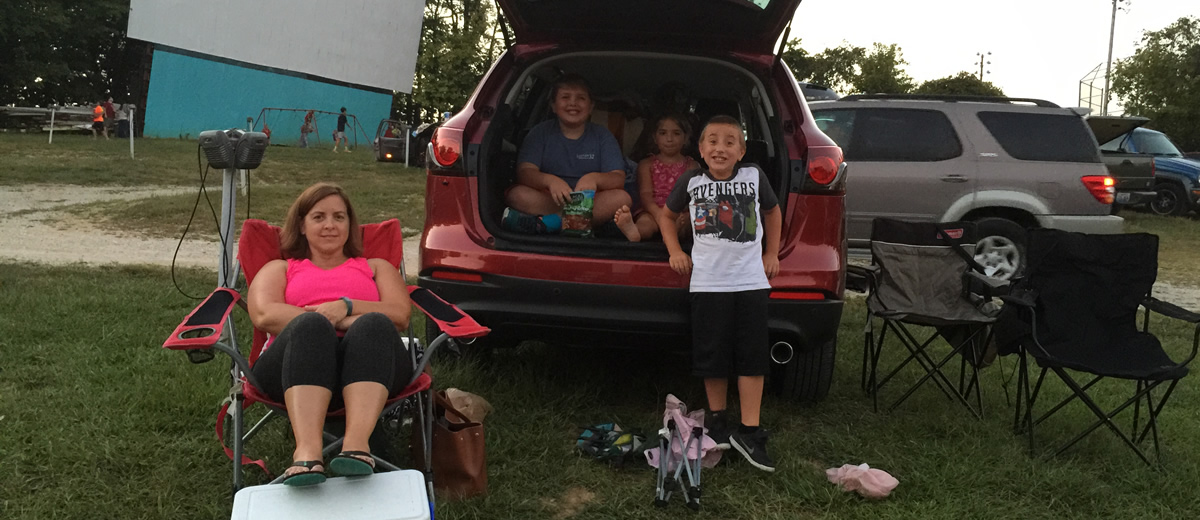 family-drive-in