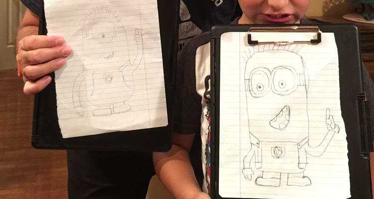 drawing-minions