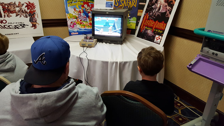 Clay and Camden fighting in Street Fighter 2.
