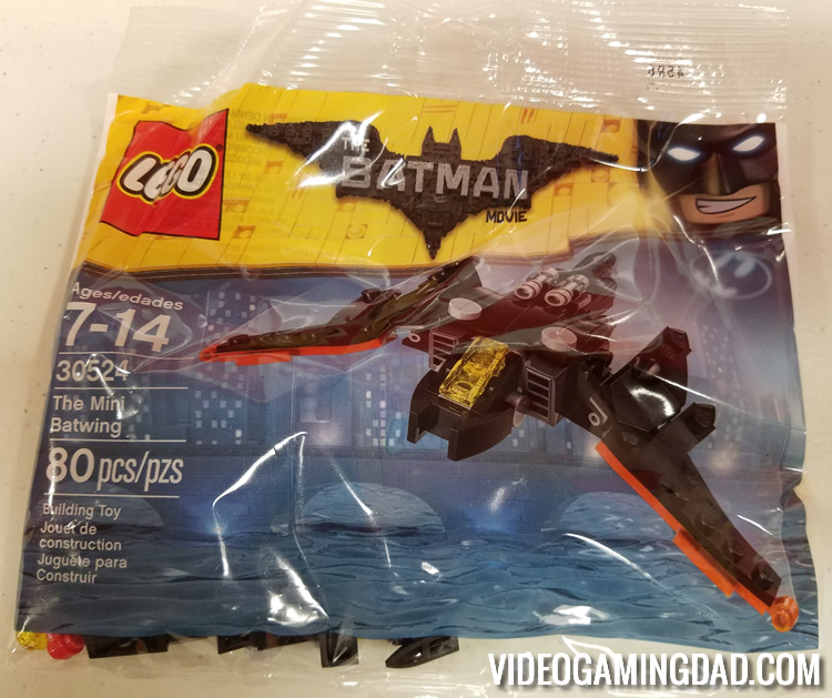 LEGO Review: The Mini Batwing - Packaging