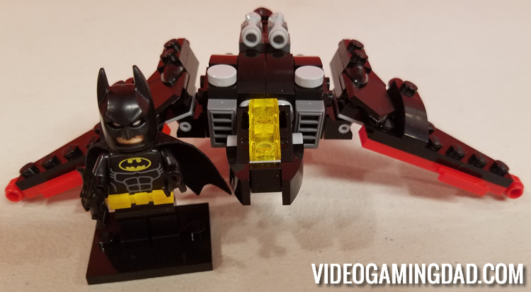 LEGO Review Photo: The Mini Batwing - Scale