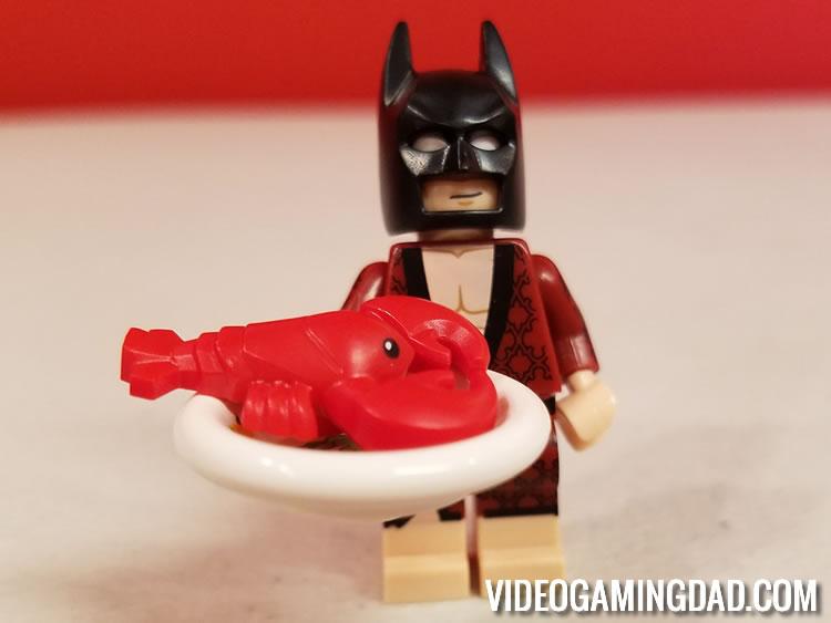 The LEGO Batman Movie: Lobster Lovin' Batman