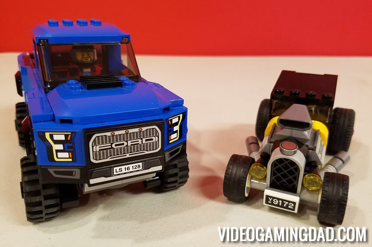 75875 Ford F-150 Raptor & Ford Model A Hot Rod Box - Comparison