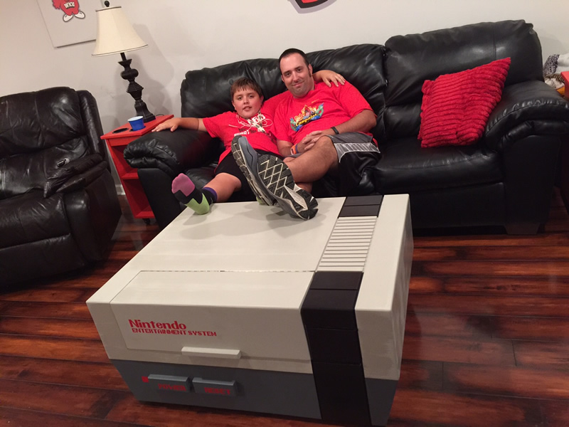 My NES Coffee Table!