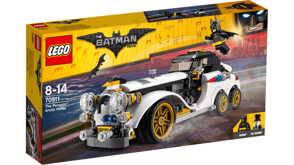 LEGO Review: 70911 The Penguin Artic Roller - Box