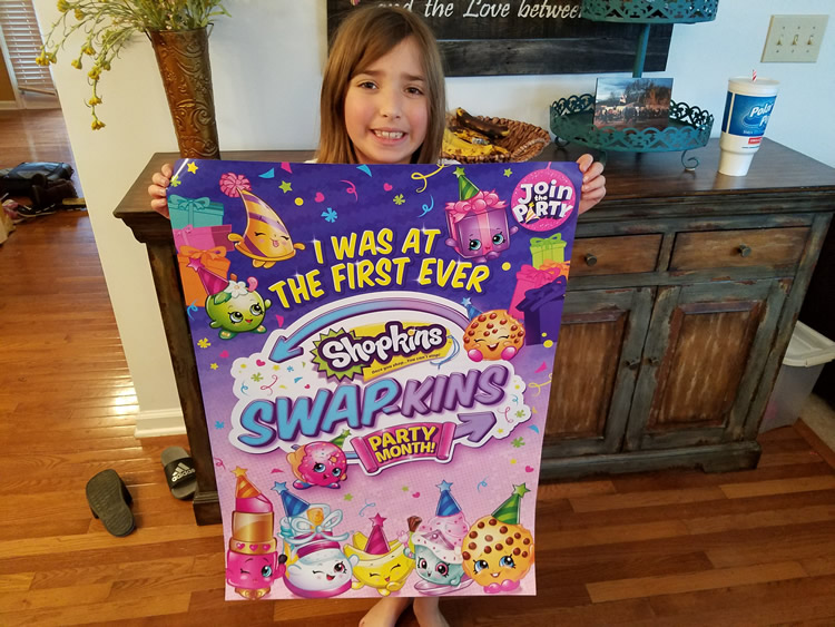 Shopkins Swap-kins Poster